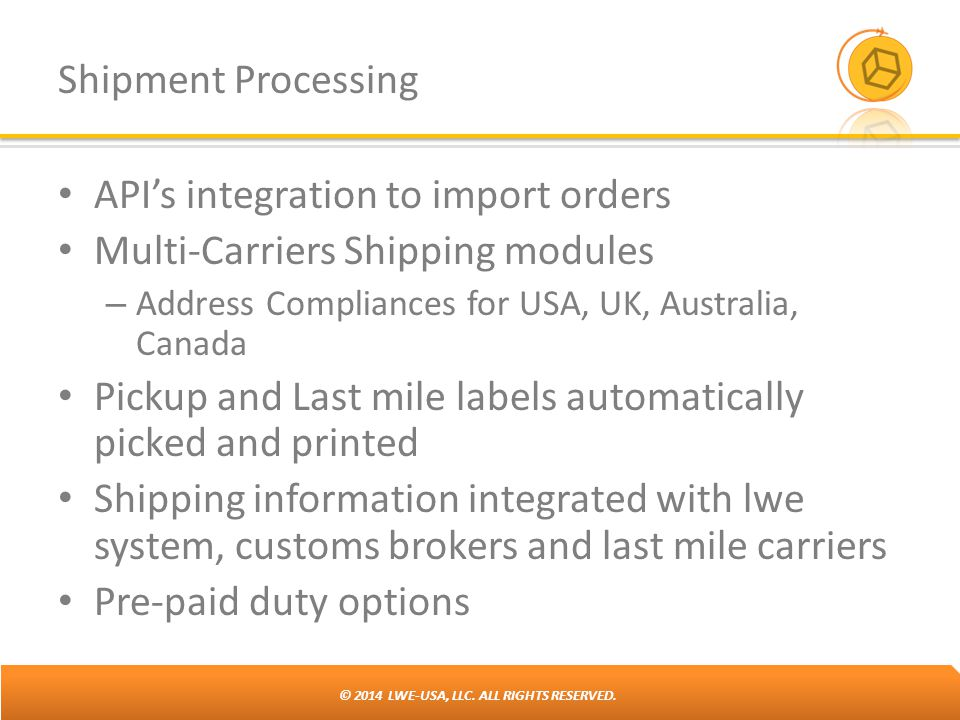 API's integration to import orders Multi-Carriers Shipping modules