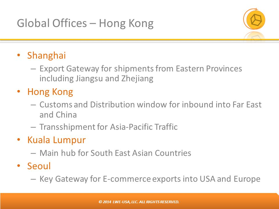 Global Offices – Hong Kong