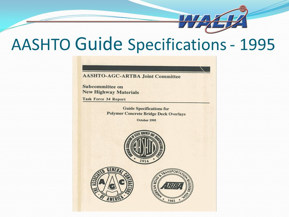 AASHTO Guide Specifications - 1995