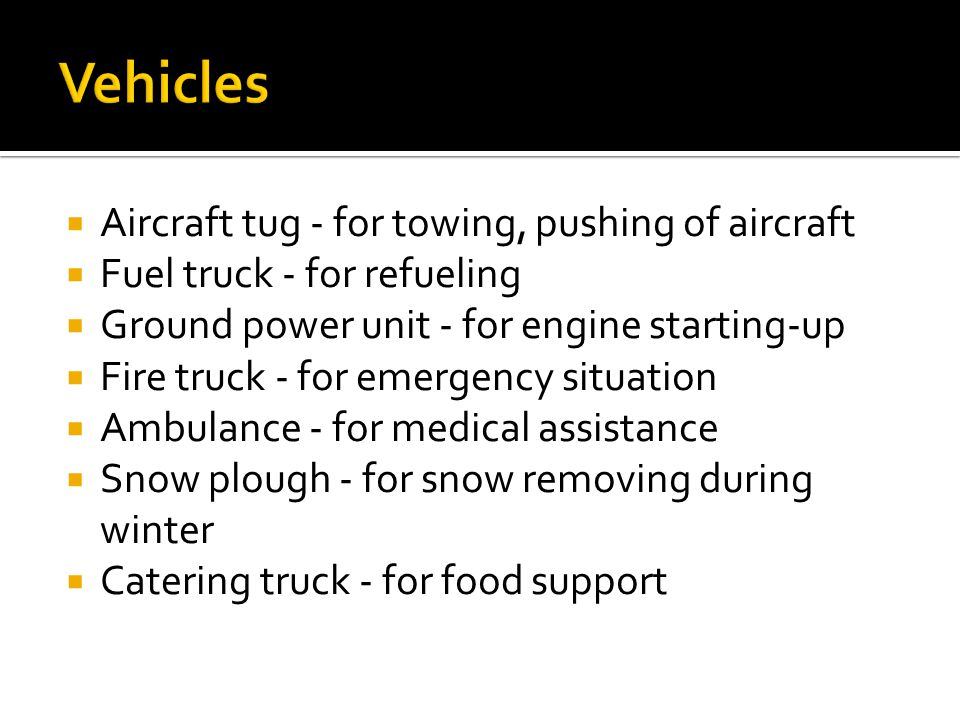 Vehicles Aircraft tug - for towing, pushing of aircraft