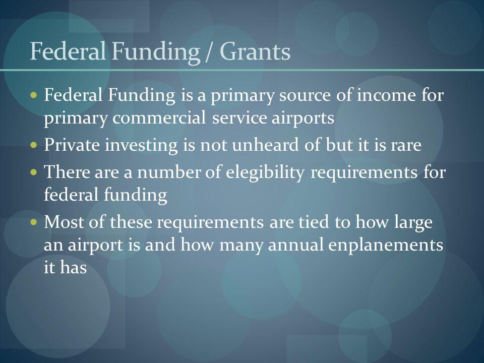 Federal Funding / Grants