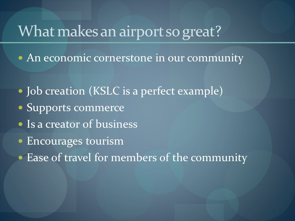 What makes an airport so great