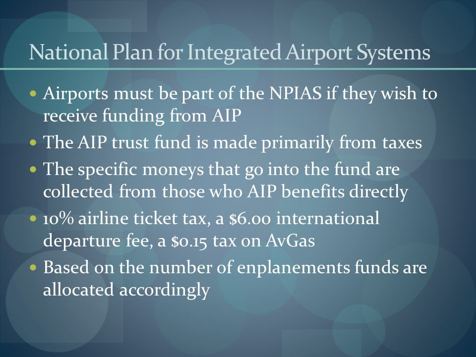 National Plan for Integrated Airport Systems