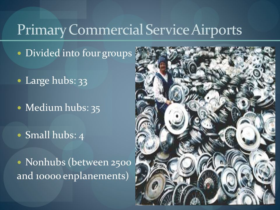 Primary Commercial Service Airports