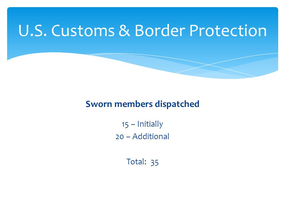 U.S. Customs & Border Protection
