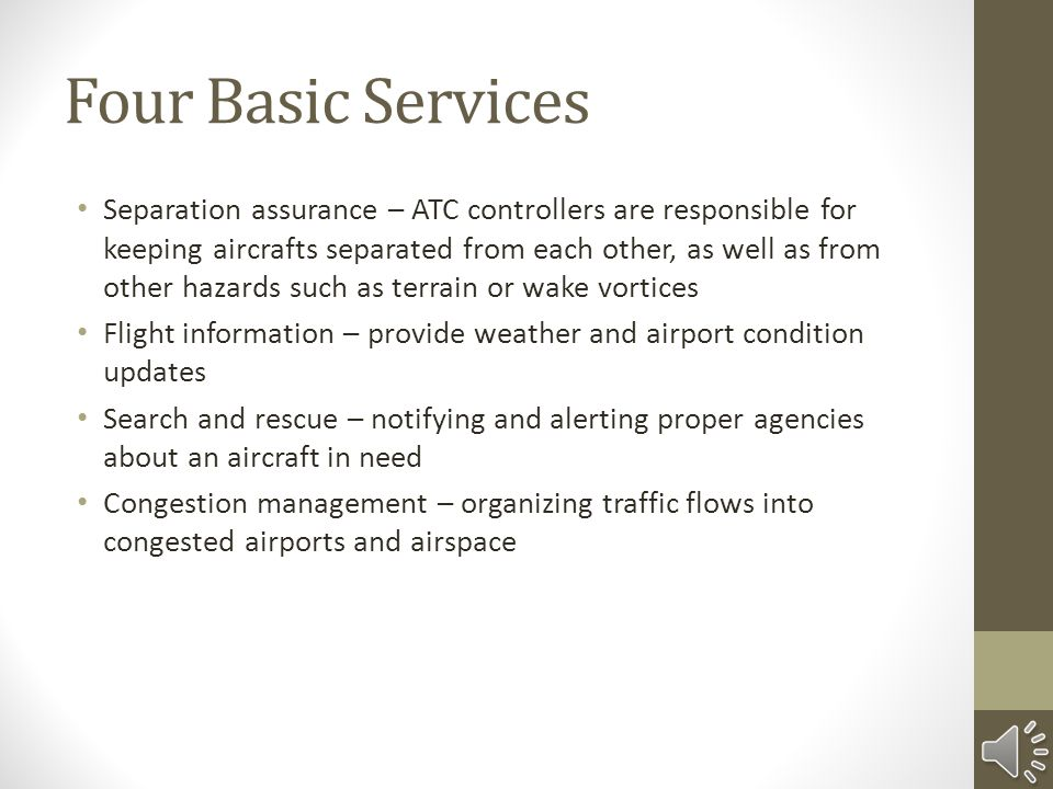 Four Basic Services