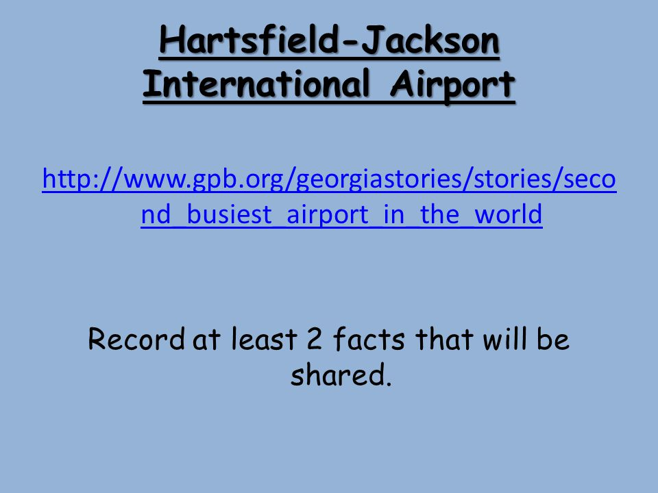 Hartsfield-Jackson International Airport