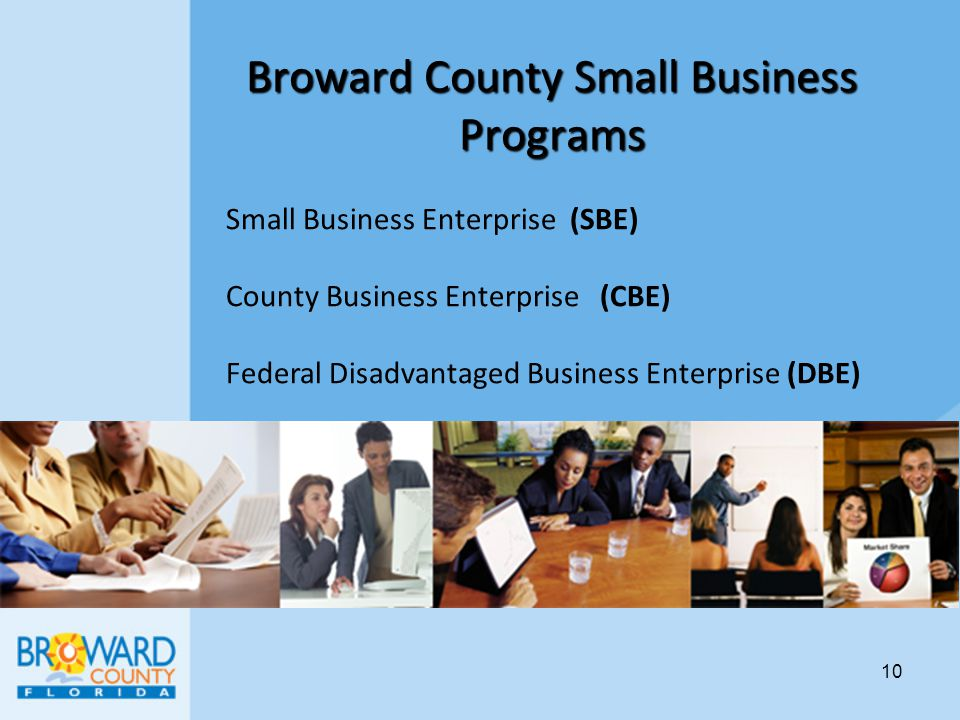 Broward County Small Business Programs