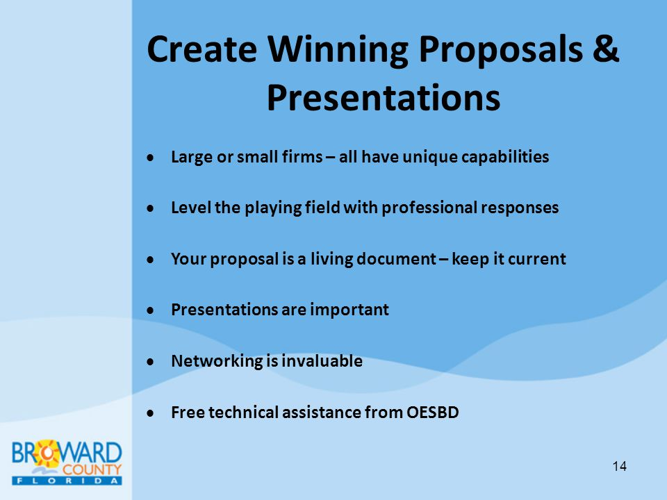 Create Winning Proposals & Presentations