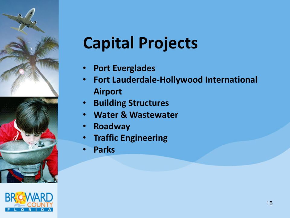 Capital Projects Port Everglades