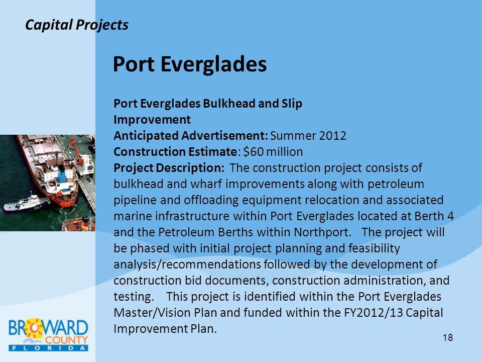 Port Everglades Capital Projects