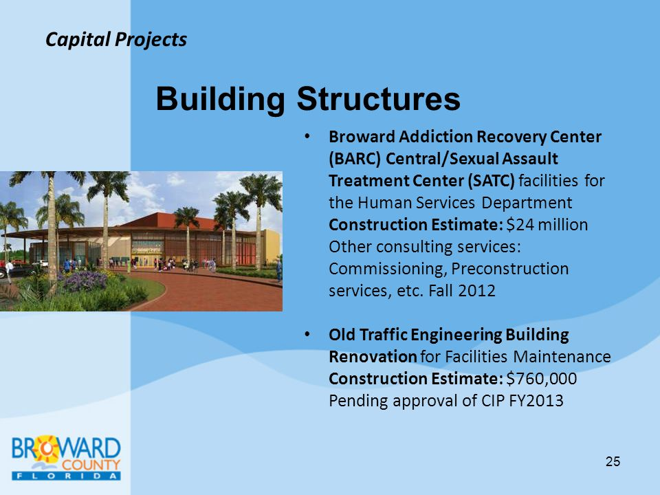 Building Structures Capital Projects