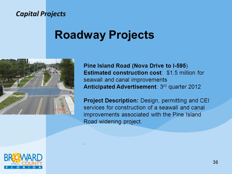 Roadway Projects Capital Projects