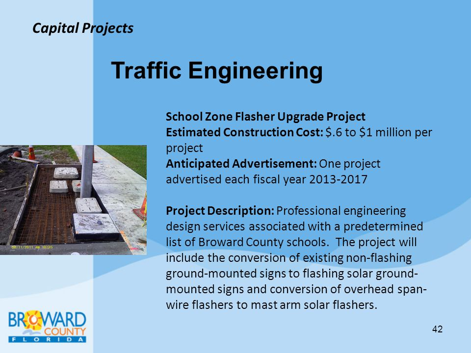 Traffic Engineering Capital Projects