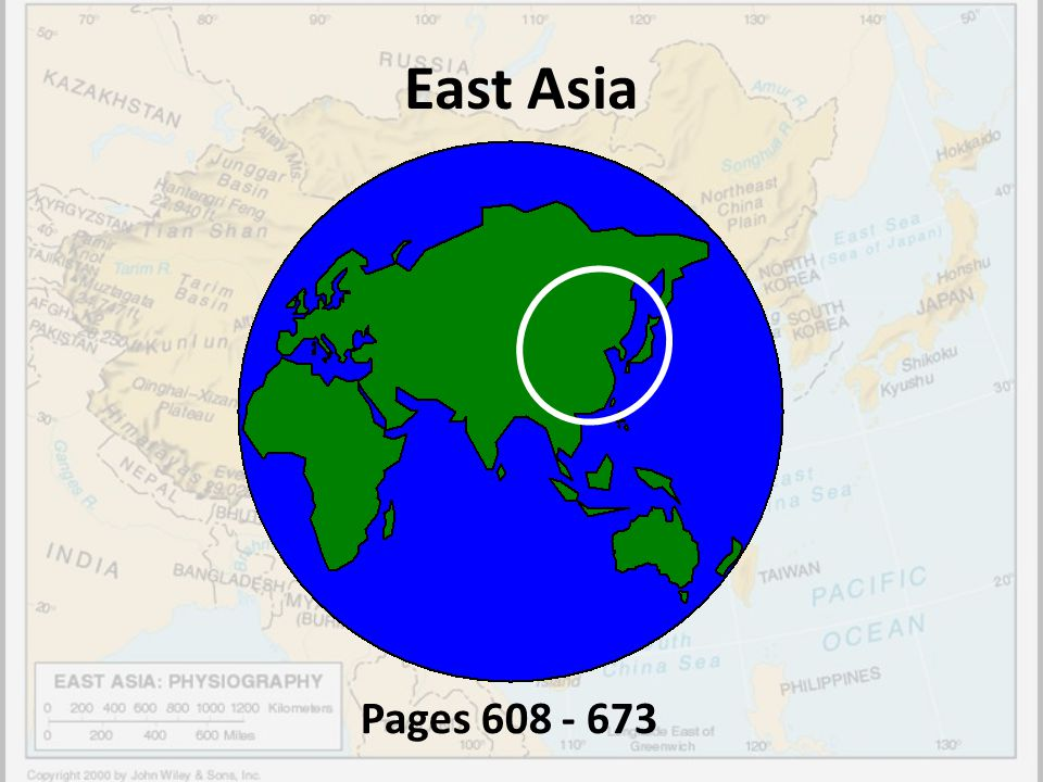 East Asia Pages 608 - 673
