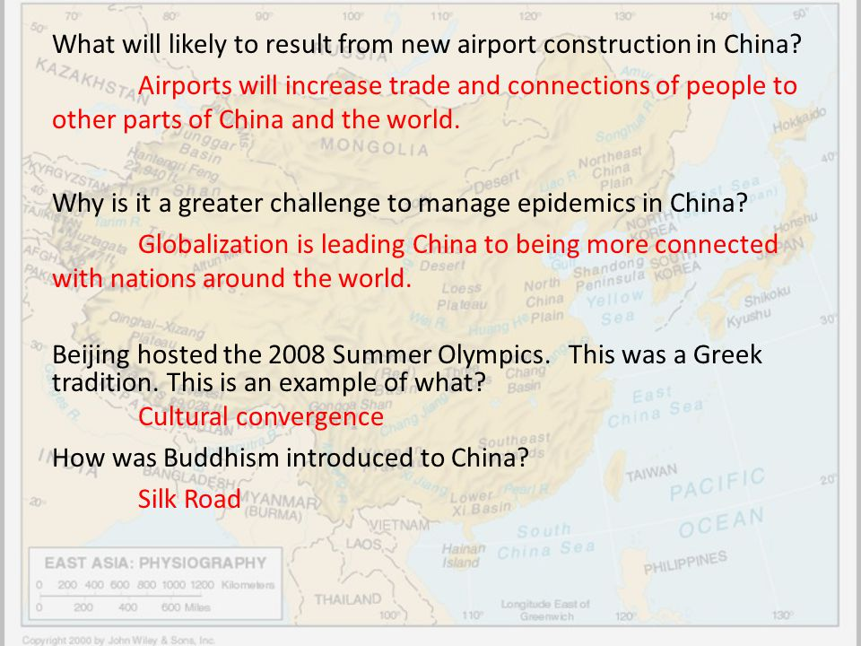 What will likely to result from new airport construction in China
