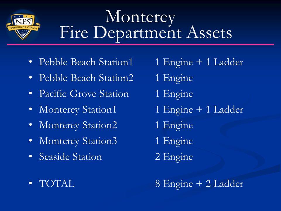 Monterey Fire Department Assets