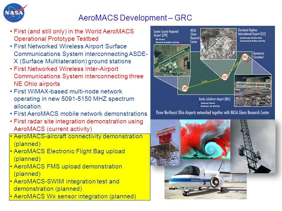 AeroMACS Development – GRC