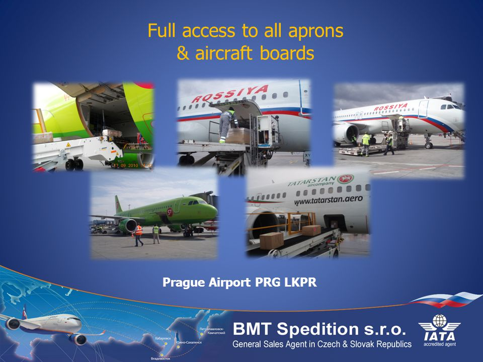 Full access to all aprons & aircraft boards