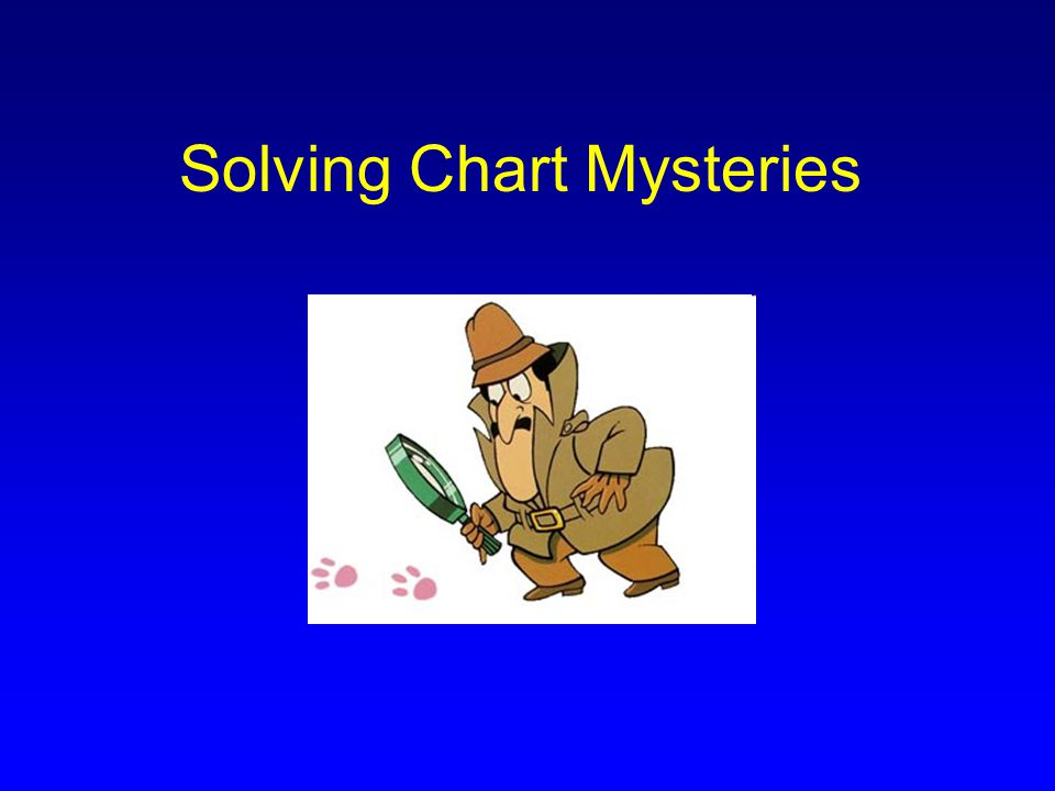 Solving Chart Mysteries