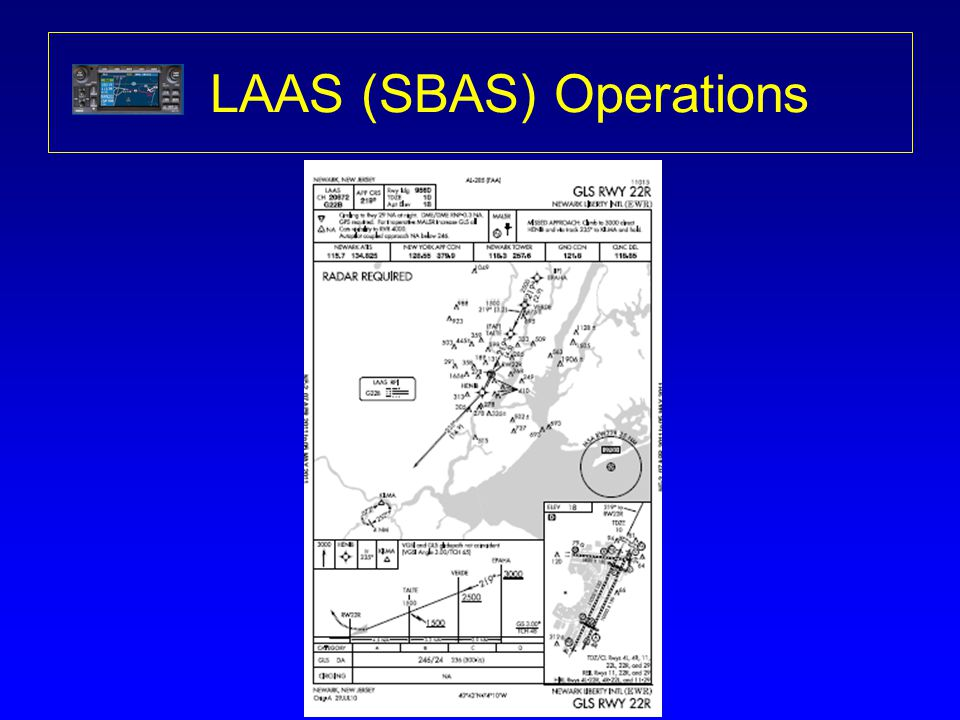 LAAS (SBAS) Operations