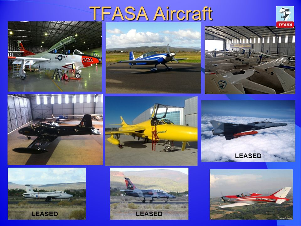 TFASA Aircraft LEASED LEASED LEASED