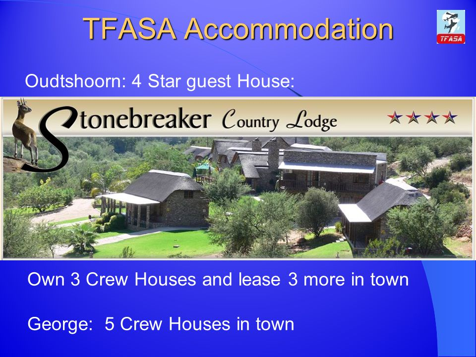 TFASA Accommodation Oudtshoorn: 4 Star guest House: