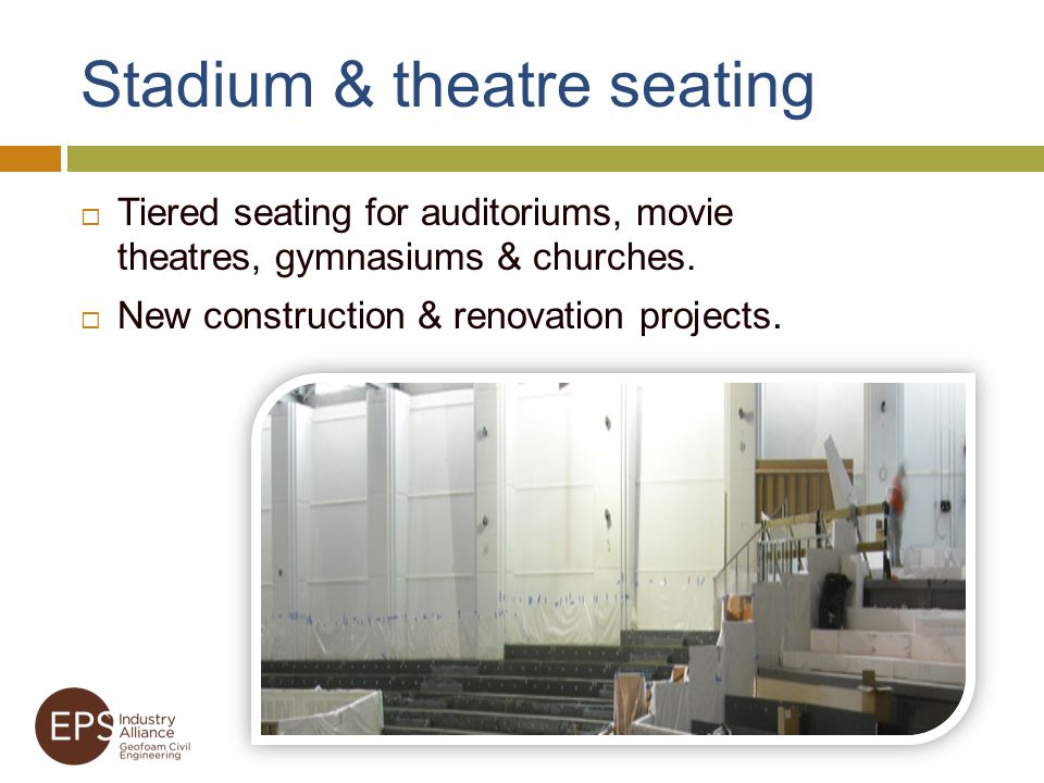 Stadium & theatre seating