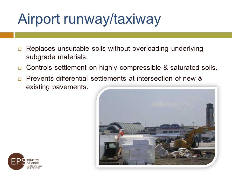 Airport runway/taxiway