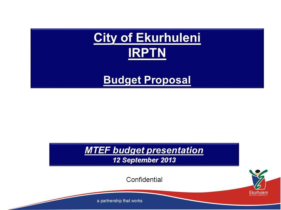 MTEF budget presentation