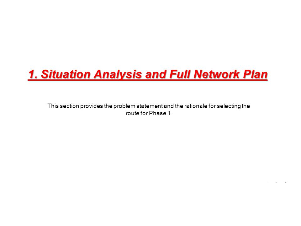 situation analysis and problem statement global 1 alternatives and marketing models dr rj fontenot outline problem statement review situation analysis relevant to pi alternatives with marketing model.