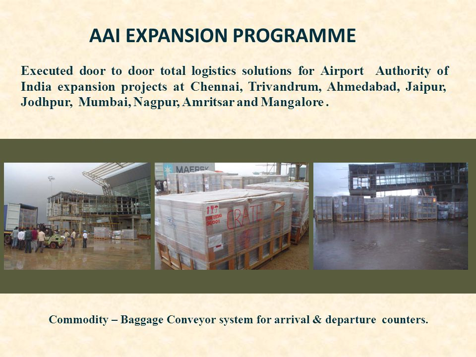 AAI EXPANSION PROGRAMME