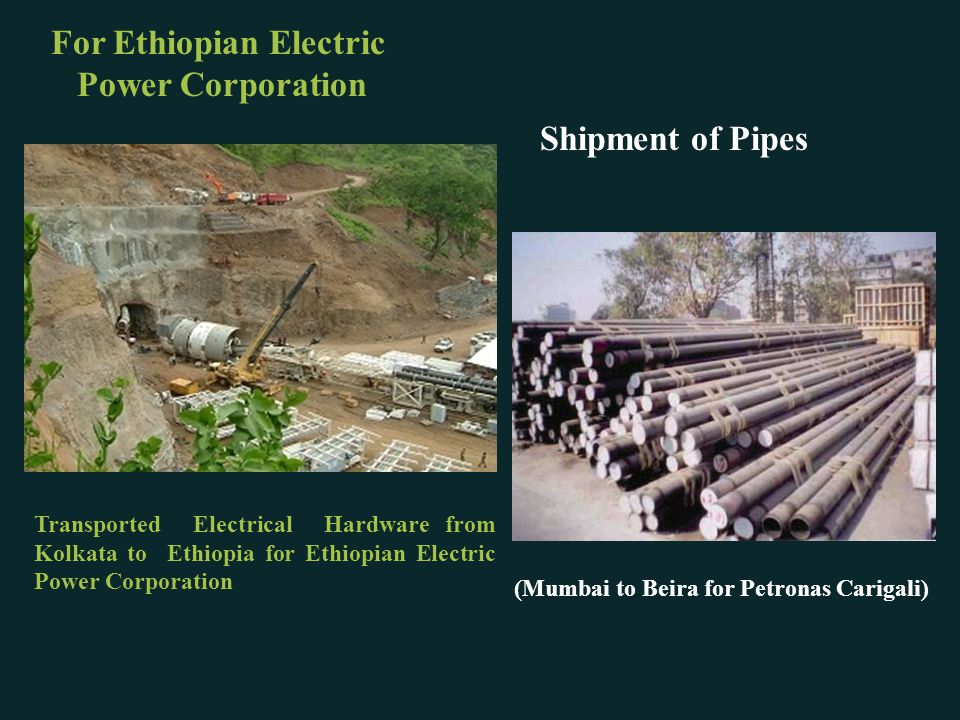 For Ethiopian Electric Power Corporation