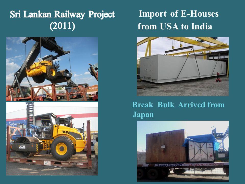 Sri Lankan Railway Project (2011)