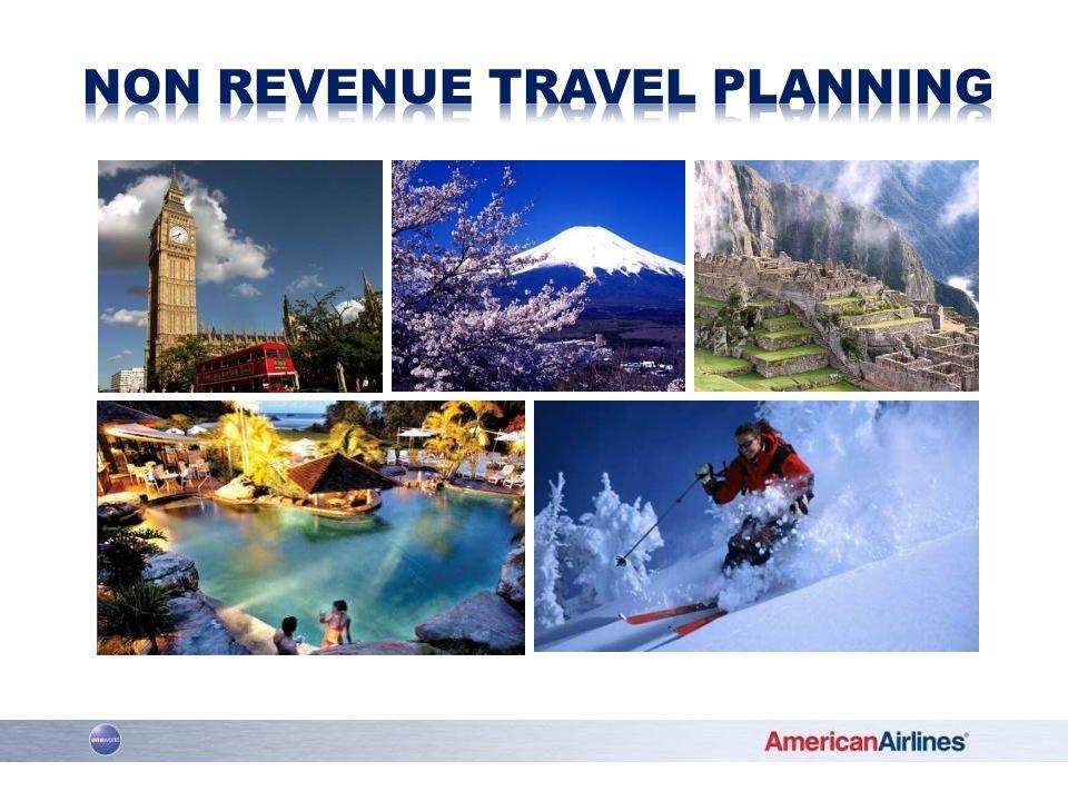 Non Revenue Travel Planning