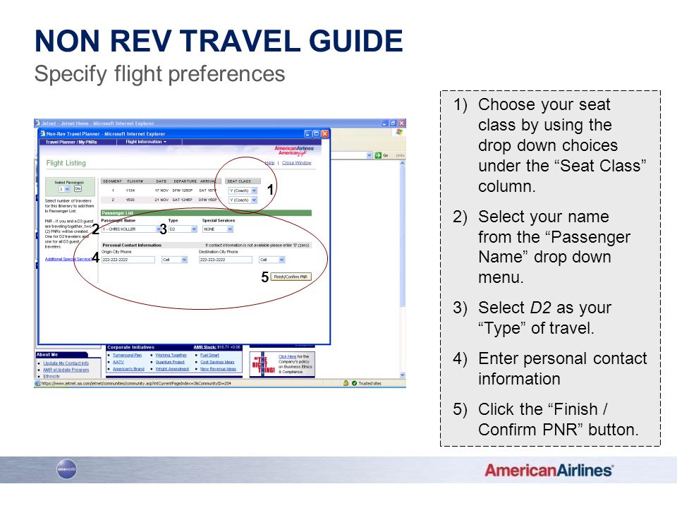 Non Rev Travel Guide