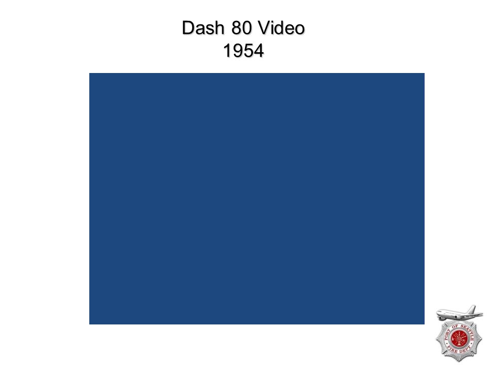Dash 80 Video 1954