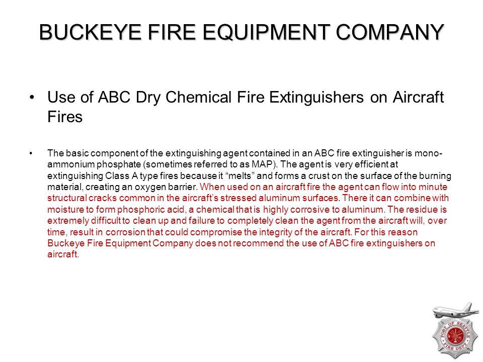 BUCKEYE FIRE EQUIPMENT COMPANY