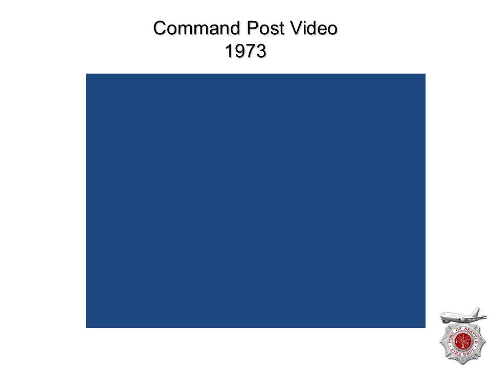 Command Post Video 1973