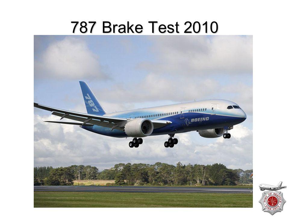 787 Brake Test 2010