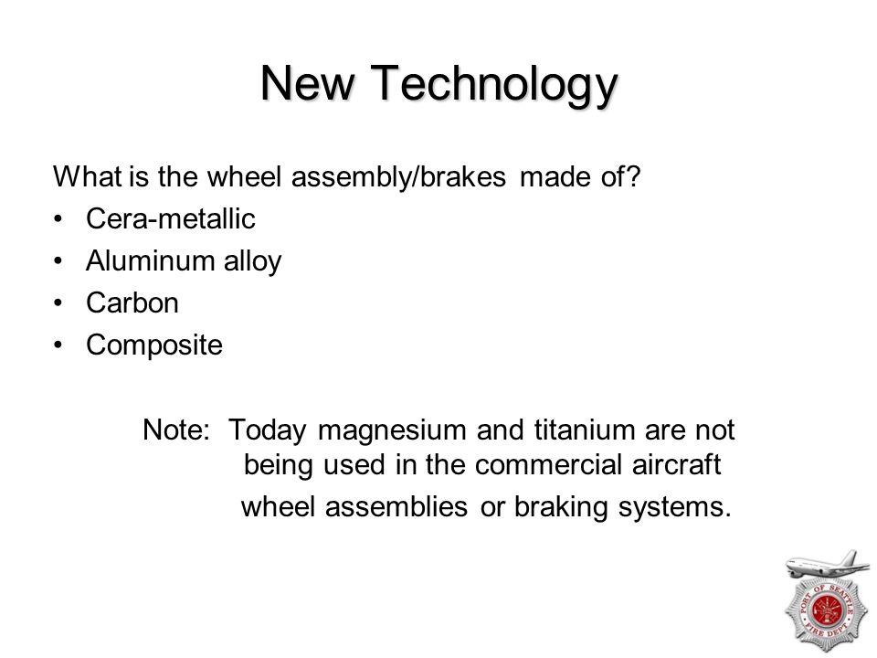 wheel assemblies or braking systems.