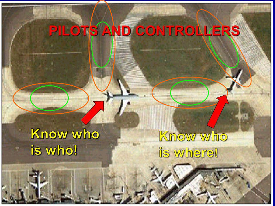 PILOTS AND CONTROLLERS