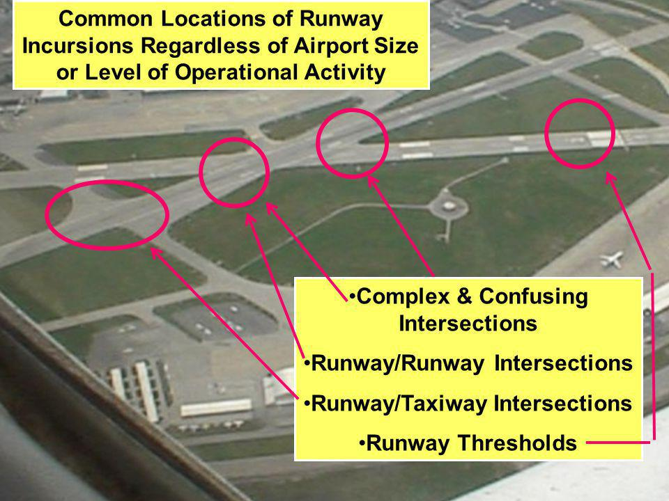 Complex & Confusing Intersections Runway/Runway Intersections