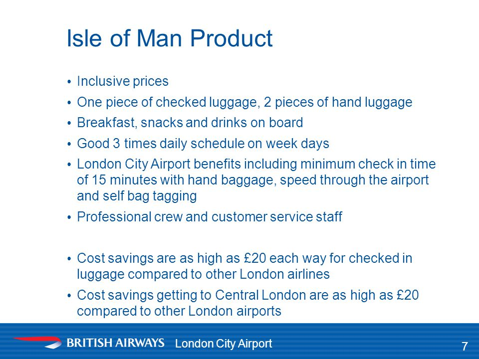 Isle of Man Product Inclusive prices