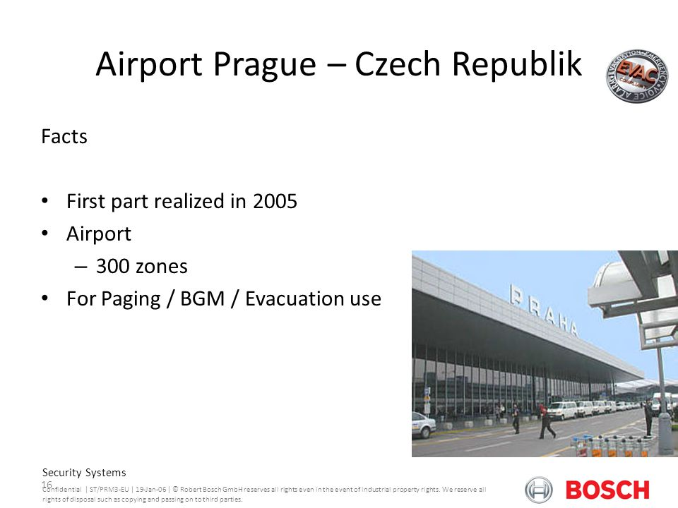 Airport Prague – Czech Republik