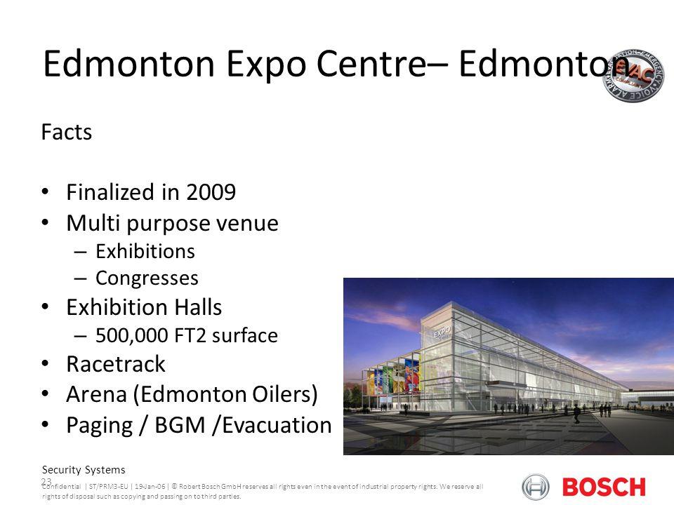 Edmonton Expo Centre– Edmonton