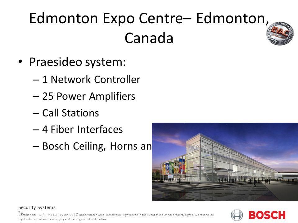 Edmonton Expo Centre– Edmonton, Canada