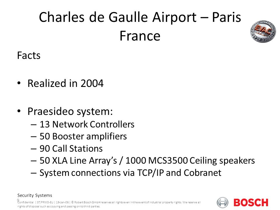 Charles de Gaulle Airport – Paris France