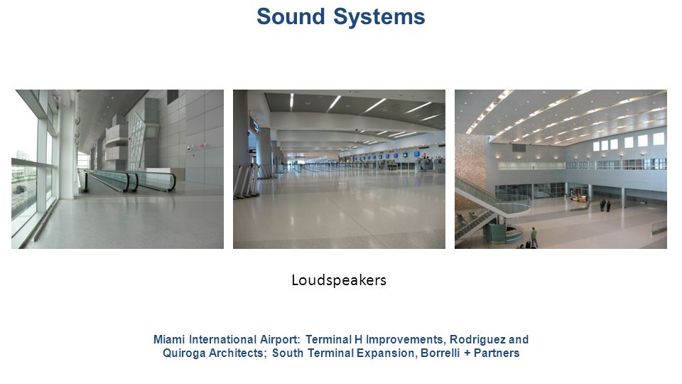 Sound Systems Loudspeakers