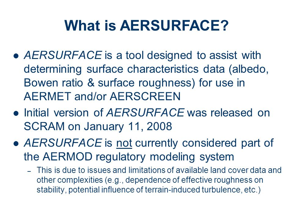 What is AERSURFACE